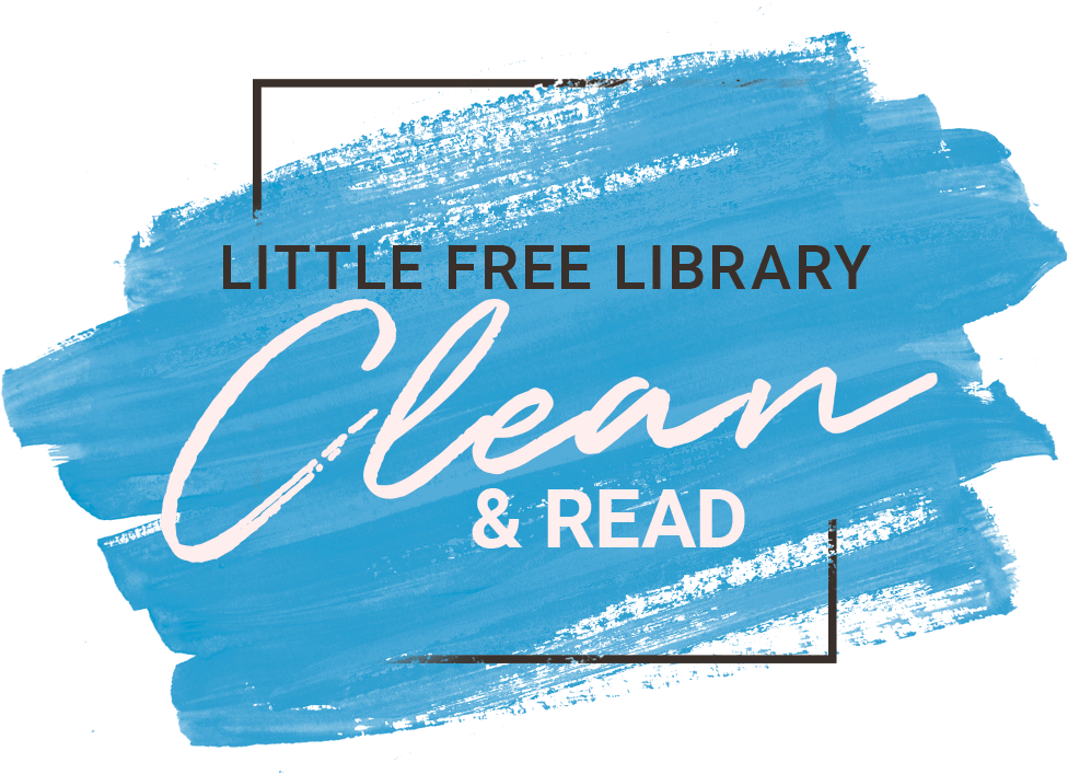Little Free Library Clean & Read Event Logo