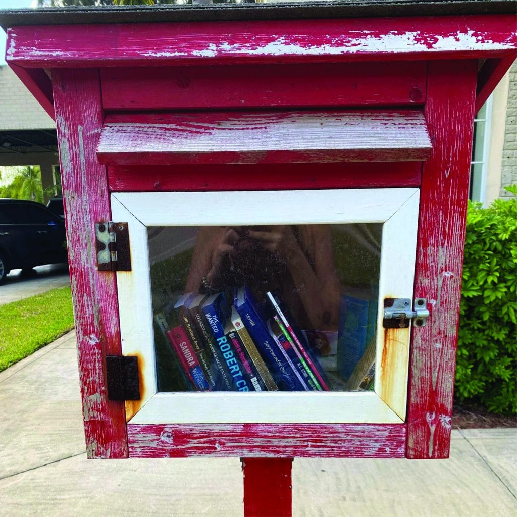 Little Free Library at Fellsmere Location