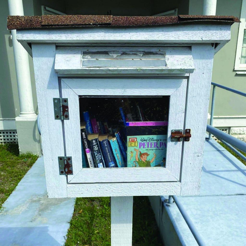 Little Free Library at Sebastian Location