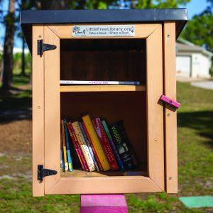 Little Free Library Vero Beach location