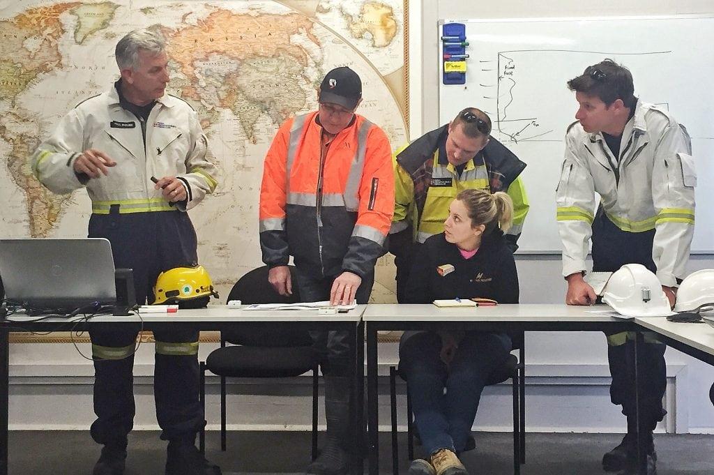 Emergency Responders at work